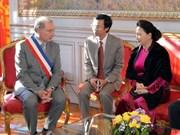 Presidenta del Parlamento vietnamita se reúne con alcalde de la ciudad francesa de Toulouse