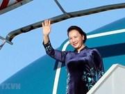 Presidenta de Asamblea Nacional de Vietnam inicia visita al Parlamento Europeo