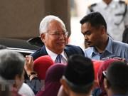Enfrenta expremier malasio Najib Razak primer juicio por cargos de corrupción
