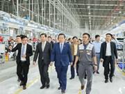 Realiza vicepresidente del Parlamento vietnamita visita de inspección a Hai Phong