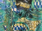 Presenta pintor vietnamita exposición individual en Estados Unidos