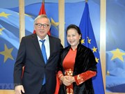 Presidenta parlamentaria de Vietnam sostuvo encuentro con titular de la Comisión Europea