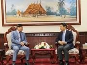 Embajada vietnamita en Laos felicita a laosianos por Año Nuevo Tradicional