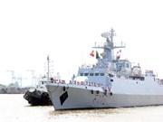 Realiza buque de la Armada de Bangladesh visita amistosa a Ciudad Ho Chi Minh