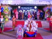 Celebran estudiantes laosianos en Vietnam el Festival de Bunpimay