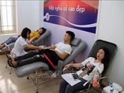 Impulsan en Vietnam campaña de donación de sangre