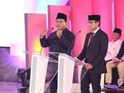 Realiza partido opositor en Indonesia masiva manifestación de campaña electoral