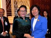 Dispuesto Vietnam a cooperar con China en diversos sectores, afirma líder parlamentaria