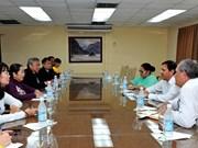 Explora delegación vietnamita en Cuba potencialidades para ampliar cooperación bilateral