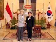 Corea del Sur e Indonesia fortalecen la relación bilateral