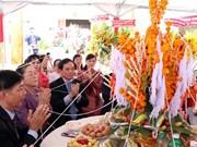 Felicitan dirigentes de Ciudad Ho Chi Minh a Laos por festival Bunpimay