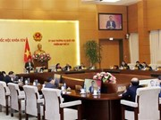 Inauguran reunión 33 del Comité Permanente del Parlamento de Vietnam
