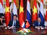Vietnam y Países Bajos emiten declaración conjunta