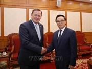Reafirma alto dirigente partidista de Vietnam importancia de vínculos con localidades alemanas