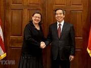 Realiza visita de trabajo a EE.UU. delegación del Partido Comunista de Vietnam