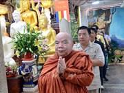 Celebran en Vietnam fiesta budista tradicional de Camboya, Myanmar, Laos y Tailandia