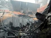 Mueren en Hanoi ocho personas como consecuencia de un incendio
