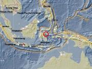 Levantan alerta de tsunami en Indonesia tras sismo de magnitud 6,8