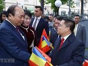 Premier vietnamita se reúne con connacionales residentes en Rumania