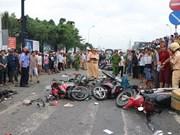Reportan en Vietnam 41 muertos por accidentes de tránsito durante asueto nacional