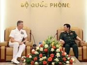 Fomentan Vietnam y EE.UU. colaboración militar