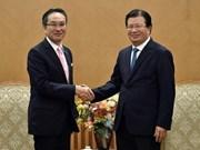 Vicepremier vietnamita recibe al director general de Marubeni de Japón