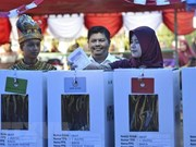 Indonesia promueve participación de votantes en elecciones