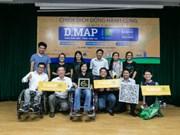 Valoran en Vietnam iniciativas para mejorar la calidad de vida de las personas con discapacidad