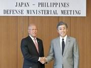Fortalecen Filipinas y Japón  la cooperación en defensa