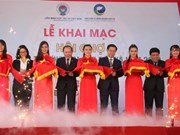 Efectúan en Ciudad Ho Chi Minh feria de promoción comercial para cooperativas