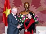 Pide presidenta de Asamblea Nacional de Vietnam impulsar nexos parlamentarios con EE.UU.