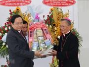 Presidente del Frente de la Patria felicita a católicos por la Pascua
