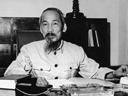 Exhiben más de 920 libros sobre Presidente Ho Chi Minh