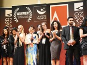 Gano artista vietnamita medalla de oro en competencia internacional de diseño en Italia