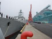 Visitan China buques de las Fuerzas Navales de Vietnam