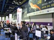 Presentan productos acuícolas vietnamitas durante  feria internacional en Corea del Sur