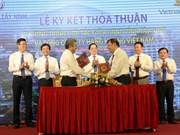 Promociona Vietnam Airlines imagen de provincia sureña Tay Ninh