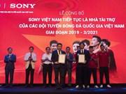 Sony continuará patrocinando equipos nacionales de fútbol de Vietnam