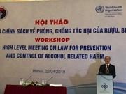 Indican que cada vietnamita consume más de seis litros de bebidas alcohólicas por año