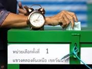 Mantendrán resultados preliminares tras repetición de elecciones generales en Tailandia