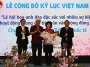 Otorgan en Vietnam registro al Festival japonés  de la flor de cerezo