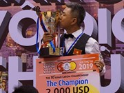 Gana jugador vietnamita Campeonato Asiático de Billar Carambola de una banda