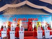 Construyen aerogenerador en provincia vietnamita de Ninh Thuan