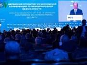 Asiste Vietnam a Conferencia Internacional de Seguridad de Moscú 2019