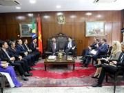 Fortalecen Vietnam y Brasil nexos legislativos