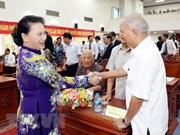 Presidenta parlamentaria de Vietnam asiste a celebración de liberación de ciudad sureña de Can Tho