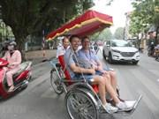 Aumenta la  llegada de turistas internacionales a Vietnam