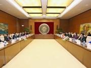 Vietnam y Laos intensifican intercambio de experiencias legislativas