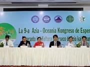 Inauguran en Vietnam IX Congreso de Esperanto de Asia y Oceanía