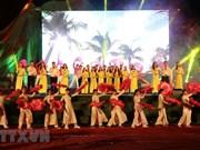 Efectúan en Vietnam programa artístico en conmemoración de efemérides nacionales